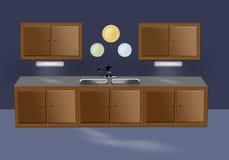 Meubles de cuisine Illustration Stock