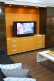 Meubles modernes de salle de séjour Photo stock