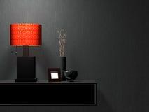 Meubles modernes de salle de séjour. Conception intérieure. Photos stock