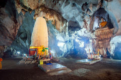 Meung στη σπηλιά, Chiang Mai, Ταϊλάνδη στοκ εικόνες