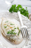 Meuniere sole fish Royalty Free Stock Images