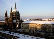 Meurent le siège de vom de Kirche Maria, église de Maria Victorious dans Wien, Autriche photos libres de droits