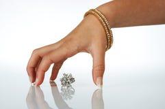Meus diamantes Imagens de Stock