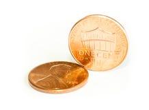 Meus dois centavos foto de stock