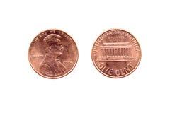 Meus dois centavos Fotos de Stock