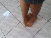 Meus pés fotos de stock royalty free