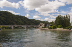 Meuse river Stock Photo