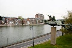 Meuse River - Namur - Belgium Royalty Free Stock Image