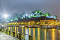 Meuse River in Namur, Belgium Stock Images