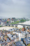 Meuse River in Namur, Belgium Stock Image