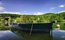 Meuse river view near Namur Royalty Free Stock Photo
