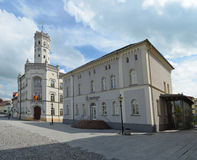 Meuselwitz town hall. Historic building Royalty Free Stock Photography