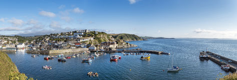 Mevagissey a Cornish Fishing Village Royalty Free Stock Images