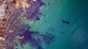 Mevagissey, Cornovaglia - vista aerea Immagini Stock