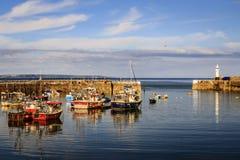 Mevagissey, Cornwall, England Stockbilder
