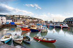 Mevagissey in Cornwall Stock Photo