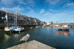 Mevagissey in Cornwall Royalty Free Stock Image