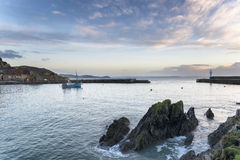 Mevagissey Harbour Royalty Free Stock Images