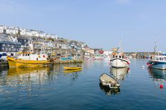 Mevagissey Harbour Cornwall Royalty Free Stock Image