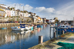 Mevagissey Harbour Cornwall England Royalty Free Stock Image