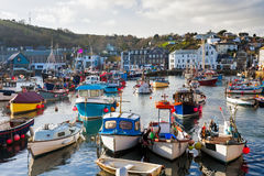Mevagissey Harbour Cornwall England Royalty Free Stock Photography