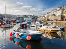 Mevagissey Harbour Cornwall England Royalty Free Stock Photos