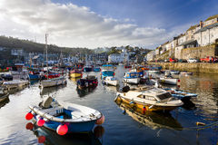 Mevagissey Harbour Cornwall England Royalty Free Stock Images