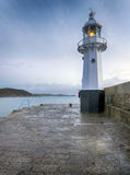 Mevagissey Lighhouse Stock Images
