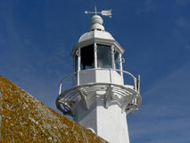 Mevagissey Light House Stock Photos