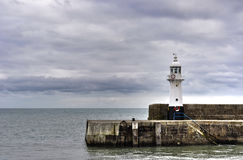 Mevagissey Lighthouse Stock Images