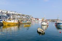 Mevagisseyhaven Cornwall Royalty-vrije Stock Afbeelding