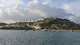 Mevagissy in Cornwall, England Royalty Free Stock Image