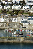Mevagissy Harbour on Exit Royalty Free Stock Photography