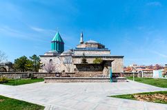 Mevlana mosque Royalty Free Stock Images