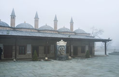 The Mevlana Museum courtyard Royalty Free Stock Photography