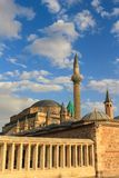 Mevlana museum i Konya, Turkiet Arkivfoton