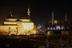 The Mevlana Museum in Konya. Stock Image