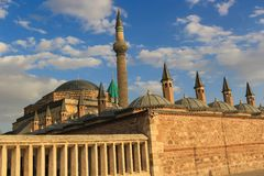 Mevlana museum in Konya, Turkey Royalty Free Stock Photography
