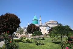 Mevlana Museum in Konya Turkey stock images