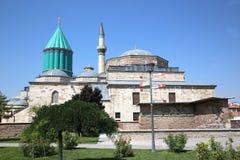Mevlana Museum in Konya Turkey stock photo