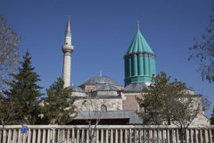 Mevlana Museum in Konya, Turkey Stock Images