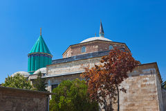 Mevlana Museum and Mausoleum at Konya Turkey Royalty Free Stock Photo