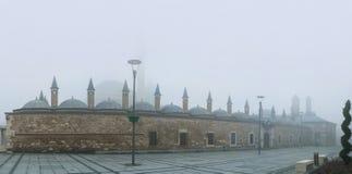 Mevlana Museum in mist Stock Image