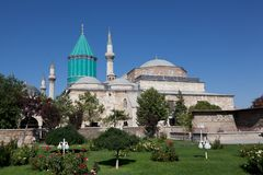 Mevlana museum mosque Royalty Free Stock Images