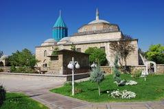 Mevlana museum mosque Stock Photography