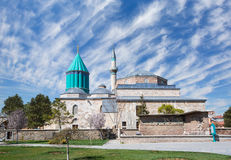 Mevlana museum mosque Stock Images