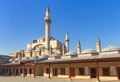 Mevlana museum mosque Royalty Free Stock Photography