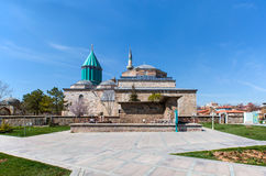 Mevlana museum mosque Royalty Free Stock Photo