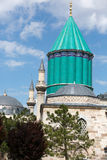 Mevlana museum mosque in Konya Stock Photo
