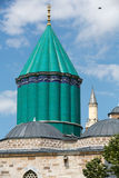 Mevlana museum mosque in Konya, Stock Photo